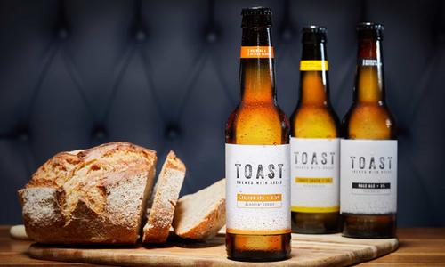 Công ty Anh biến bánh mì thừa thành bia