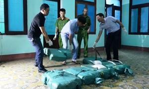 Tài xế người Lào chở 300kg ma tuý vào Việt Nam