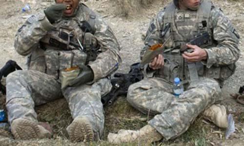 Quân đội Mỹ đối mặt với thách thức khi nạn béo phì gia tăng. Ảnh minh họa: AFP.