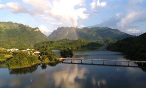 Vẻ đẹp của khu bảo tồn vừa được xếp hạng danh thắng Quốc gia