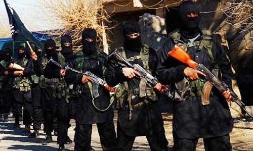 Phiến quân IS ở Syria. Ảnh: Zaman Al Wasl.