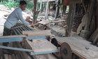 Nông dân Việt tự cải tiến máy xẻ gỗ chi phí 4 triệu đồng