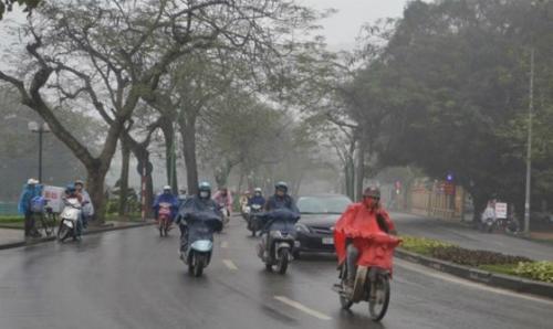 Hà Nội sẽ có mưa nhỏ trong mấy ngày tới.