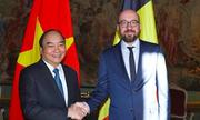 Thủ tướng Nguyễn Xuân Phúc thăm chính thức Bỉ