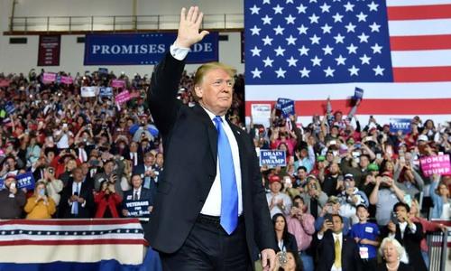 Trump tuyên bố 100% tái tranh cử tổng thống