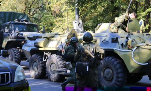 Đánh bom và xả súng tại trường học Crimea, 17 người chết