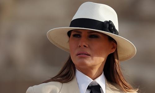 Melania Trump công du Ai Cập ngày 6/10. Ảnh: Reuters.