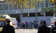 Cô gái chứng kiến bạn bị bắn chết trong vụ xả súng ở trường học Crimea