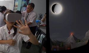 Buổi học dùng kính VR đầu tiên ở trường công Sài Gòn