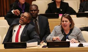 Các nhà ngoại giao Cuba đập bàn, la ó Mỹ tại trụ sở Liên Hợp Quốc