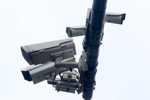 Camera dày đặc ở các nút giao thông tại thủ đô - 2