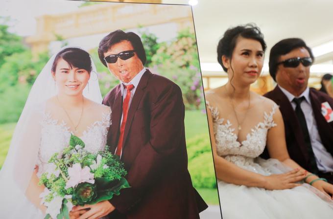 Lễ cưới tập thể cho 40 cặp đôi khuyết tật ở Sài Gòn