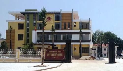 Trụ sở UBND huyện Như Thanh. Ảnh: Lam Sơn.