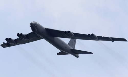 Máy bay ném bom B-52 của Mỹ. Ảnh: Reuters.