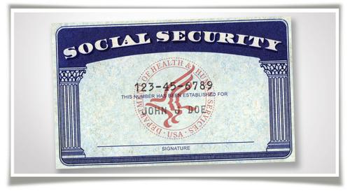 Thẻ an sinh xã hội không có ảnh nên không được dùng làm giấy chứng minh thân phận.