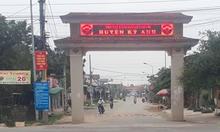 Nhiều nhà dân ở Hà Tĩnh rung lắc mạnh lúc sáng sớm