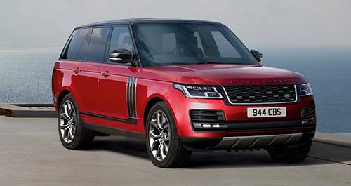 Range Rover 2018 thay đổi thiết kế đầu xe. Ảnh: Land Rover.