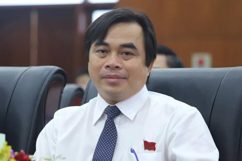 Ông Tô Văn Hùng - tân Giám đốc Sở Tài nguyên Môi trường Đà Nẵng. Ảnh: Nguyễn Đông.