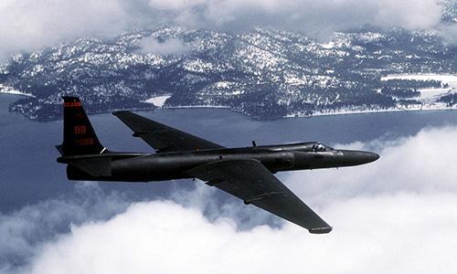 Trinh sát cơ U-2 bay huấn luyện. Ảnh: US Air Force.