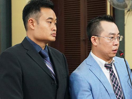 Đại diện người Singapore (bên trái) của Grab. Ảnh: Kỳ Hoa.