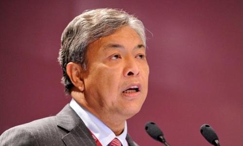 Cựu phó thủ tướng Malaysia Ahmad Zahid. Ảnh: AFP.