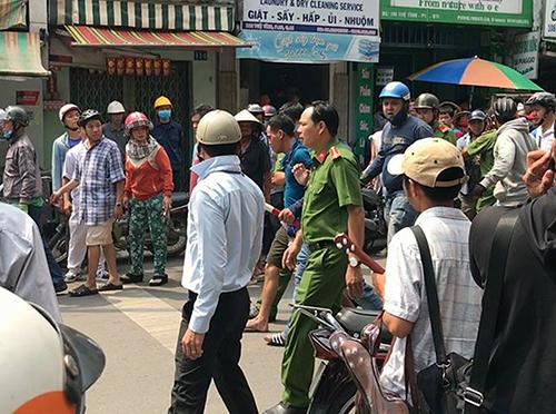 Người cố thủ trong tiệm game ở Sài Gòn đã tử vong