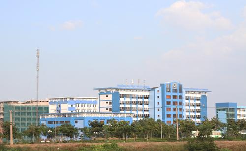 Cơ sở Đại học Bách khoa TP HCM tại khu vực giáp ranh Thủ Đức (TP HCM) và Dĩ An (Bình Dương). Ảnh: Mạnh Tùng.