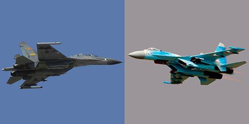Shenyang J-11 được Trung Quốc sản xuất trên dây chuyền Su-27 mua của Liên Xô. Ảnh: Popular Mechanics.