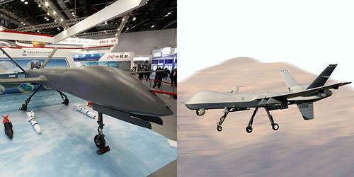 UAV CH-4 của Trung Quốc được cho là sao chép từ MQ-9 của Mỹ. Ảnh: Popular Mechanics.
