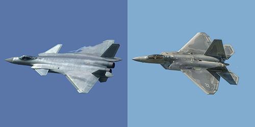 J-20 được phát triển với thiết kế F-22 do công dân Trung Quốc đánh cắp và chuyển về nước. Ảnh: Popular Mechanics.