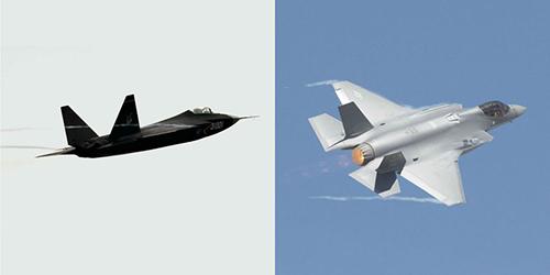 Thiết kế của J-31 có nhiều nét tương đồng với F-22 và F-35 Ảnh: Popular Mechanics.