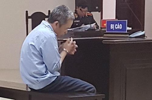 Bị cáo Luyên tại phiên tòa phúc thẩm.