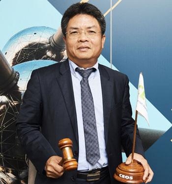 PGS Phạm Anh Tuấnvị trí chủ tịch Ủy ban Vệ tinh quan sát Trái Đất 2019. Ảnh:VNSC.