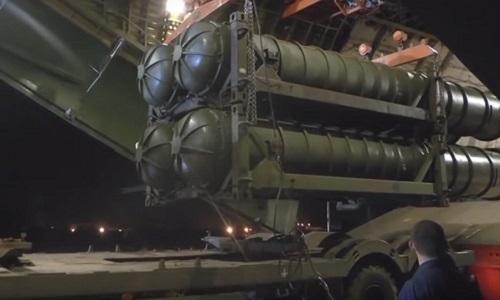 Hệ thống S-300PM-2 do Nga chuyển giao do Syria. Ảnh: Sputnik.