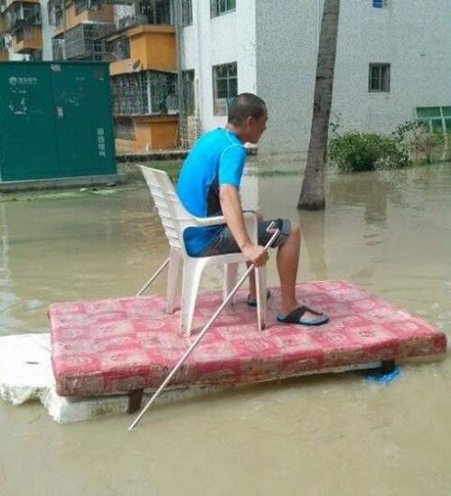 Cách di chuyển khi mùa nước nổi.
