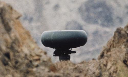 Cụm radar Longbow trên trục cánh quạt chính của trực thăng AH-64E. Ảnh: Lockheed Martin.