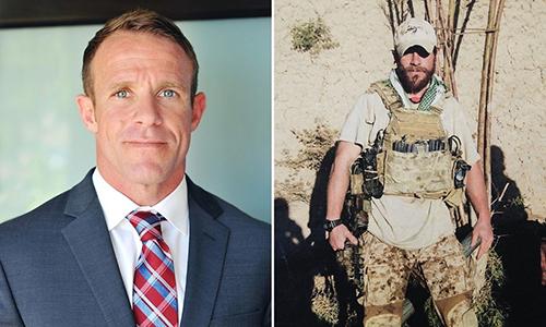 Trung sĩ nhất Edward Gallagher thuộc lực lượng SEAL sẽ phải hầu tòa vì cáo buộc dùng dao đâm chết phiến quân IS. Ảnh: Navy Times.