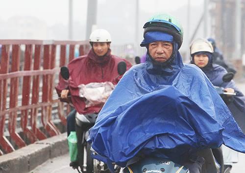 Hà Nội dự báo có mưa giông từ đêm thứ hai 22/10. Ảnh: Ngọc Thành