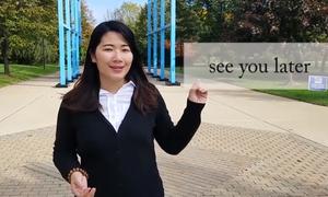 Phát âm chuẩn cụm từ 'See you later'