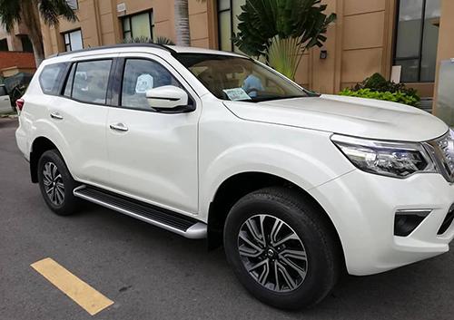 SUV của Nissan sẽ trưng bày tại triển lãm ôtô Việt Nam tuần sau. Ảnh: Nguyễn Bắc
