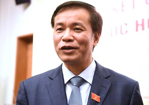 Tổng thư ký Quốc hội Nguyễn Hạnh Phúc. Ảnh: Giang Huy.