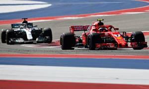Raikkonen về nhất ở Grand Prix Mỹ