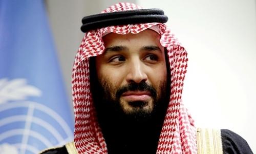 Thái tử Mohammed bin Salman tại New York hồi tháng ba. Ảnh: Reuters.