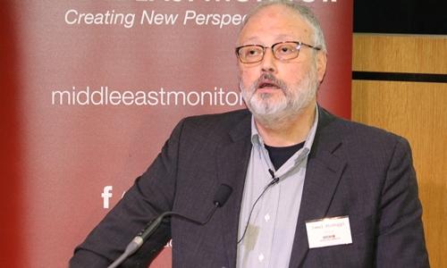 Jamal Khashoggi tại Anh ngày 29/9. Ảnh: Reuters.