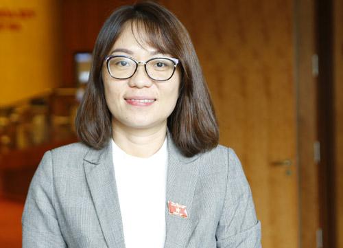 Đại biểu Phạm Thị Minh Hiền.