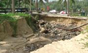 Cửa xả hư hỏng, hàng trăm hộ dân Đà Nẵng chịu cảnh ngập lụt