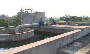 Nhà máy nước sạch làm dở dang nhiều năm ở Nghệ An