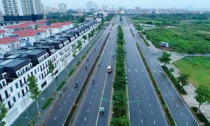 Đường 10 làn xe nối hai tuyến vành đai ở thủ đô