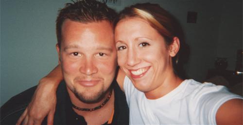 Nicole và bạn thân, Kyle - một trong ba người mất mạng.