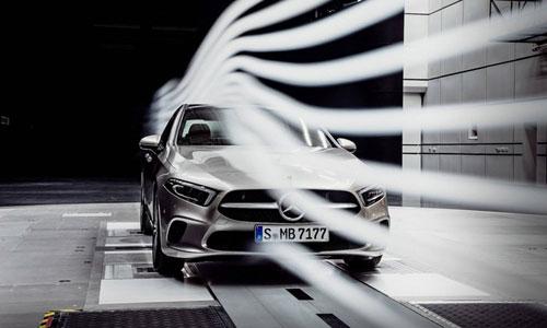 Mercedes CLA 180 đang là mẫu xe có hệ số kéo thấp nhất.